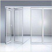玻璃折叠隔断门